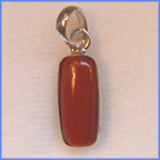 RC1201 Red Coral 5.5 ct Silver
